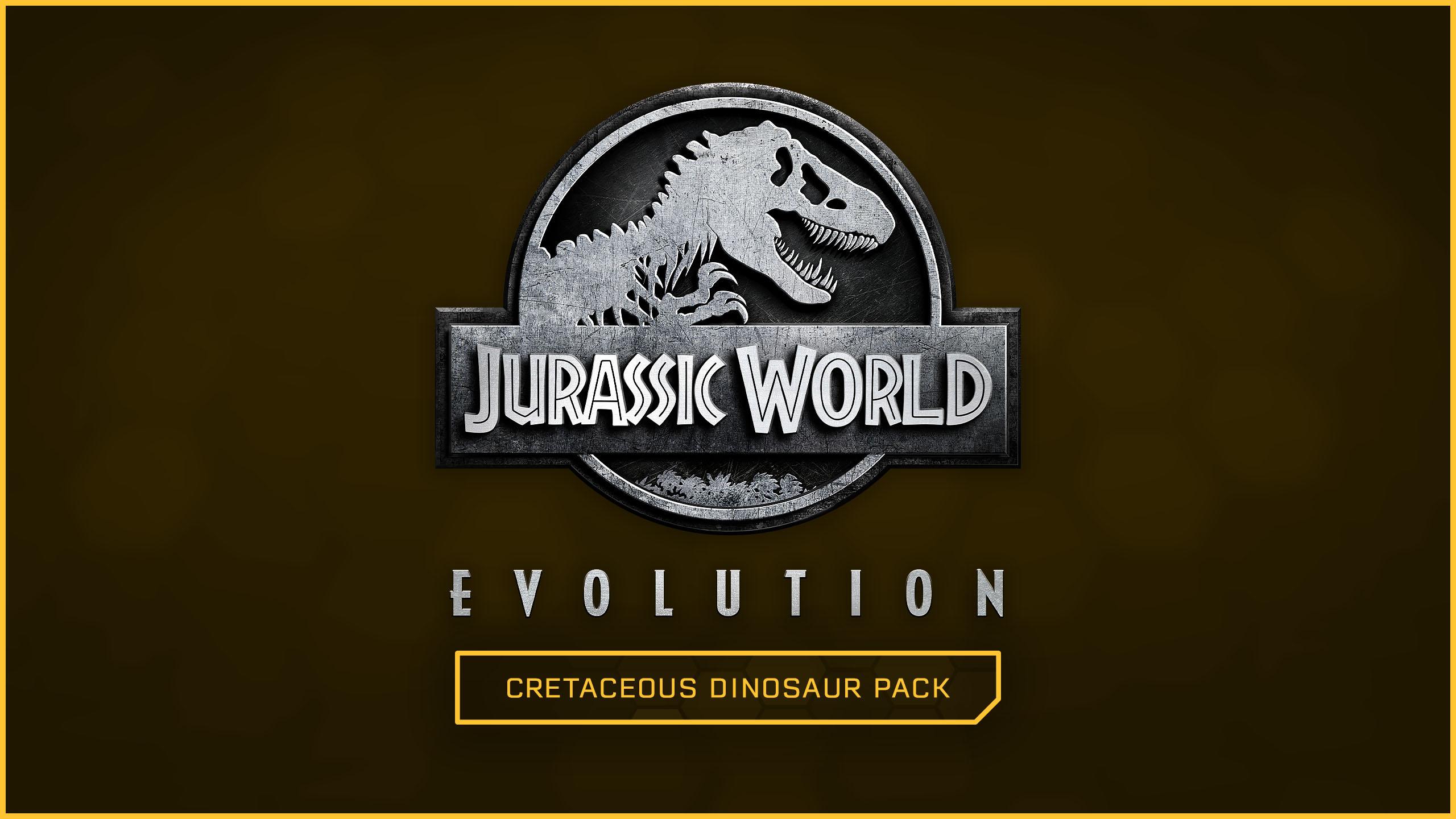 Jurassic World Evolution Cretaceous Dinosaur Pack