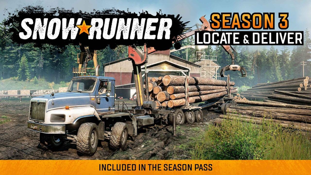 SnowRunner Temporada 3: Locate & Deliver