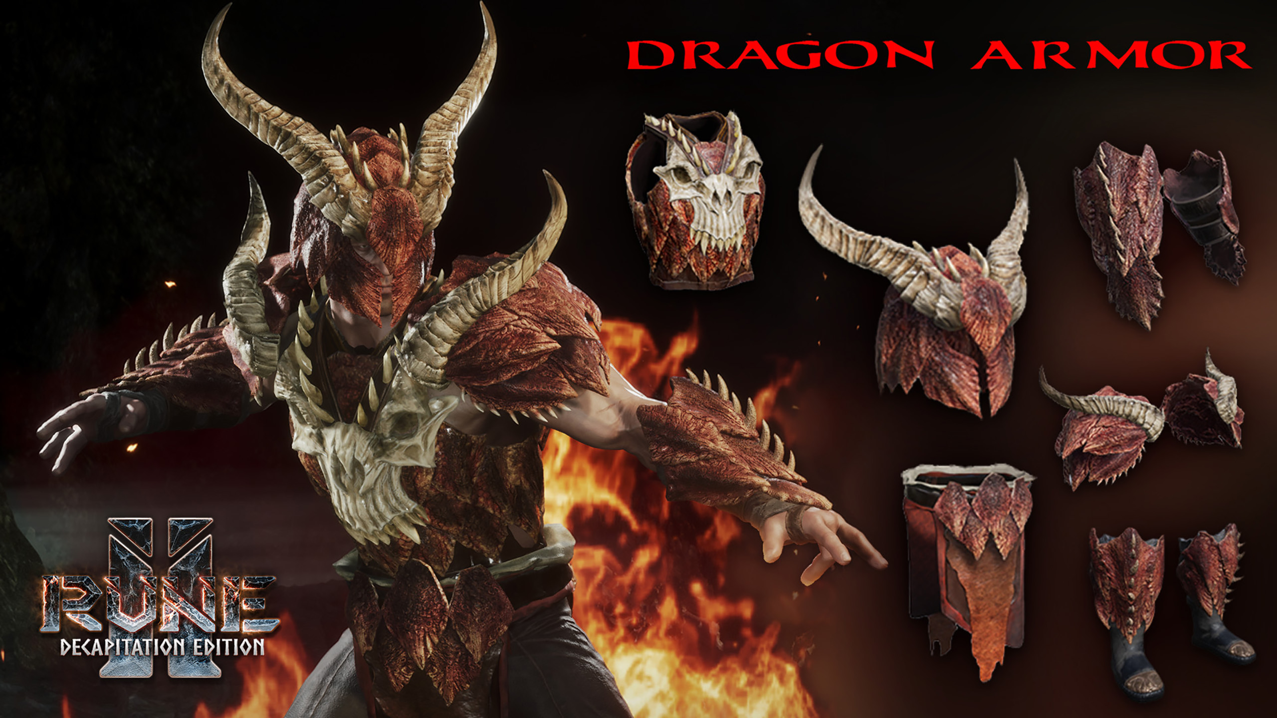 Rune Ii Rune Ii Decapitation Edition Dragon Armor Set A wide variety of dragon armors options are available to you, such as material, use, and theme. rune ii rune ii decapitation edition