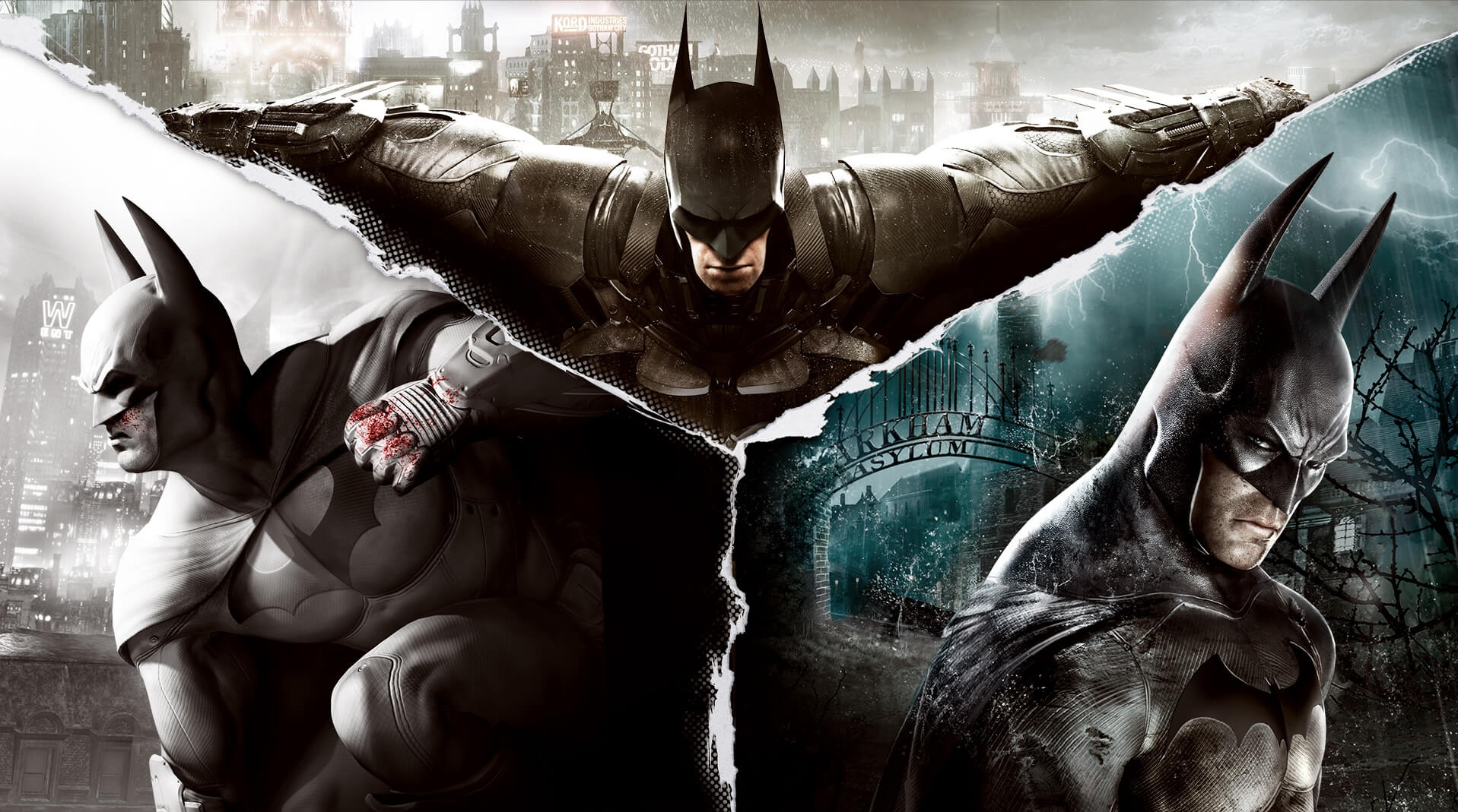 [Epic Games Store] Batman Arkham Collection + Lego Batman Trilogy (Free/-100%) Sept. 19 – 26