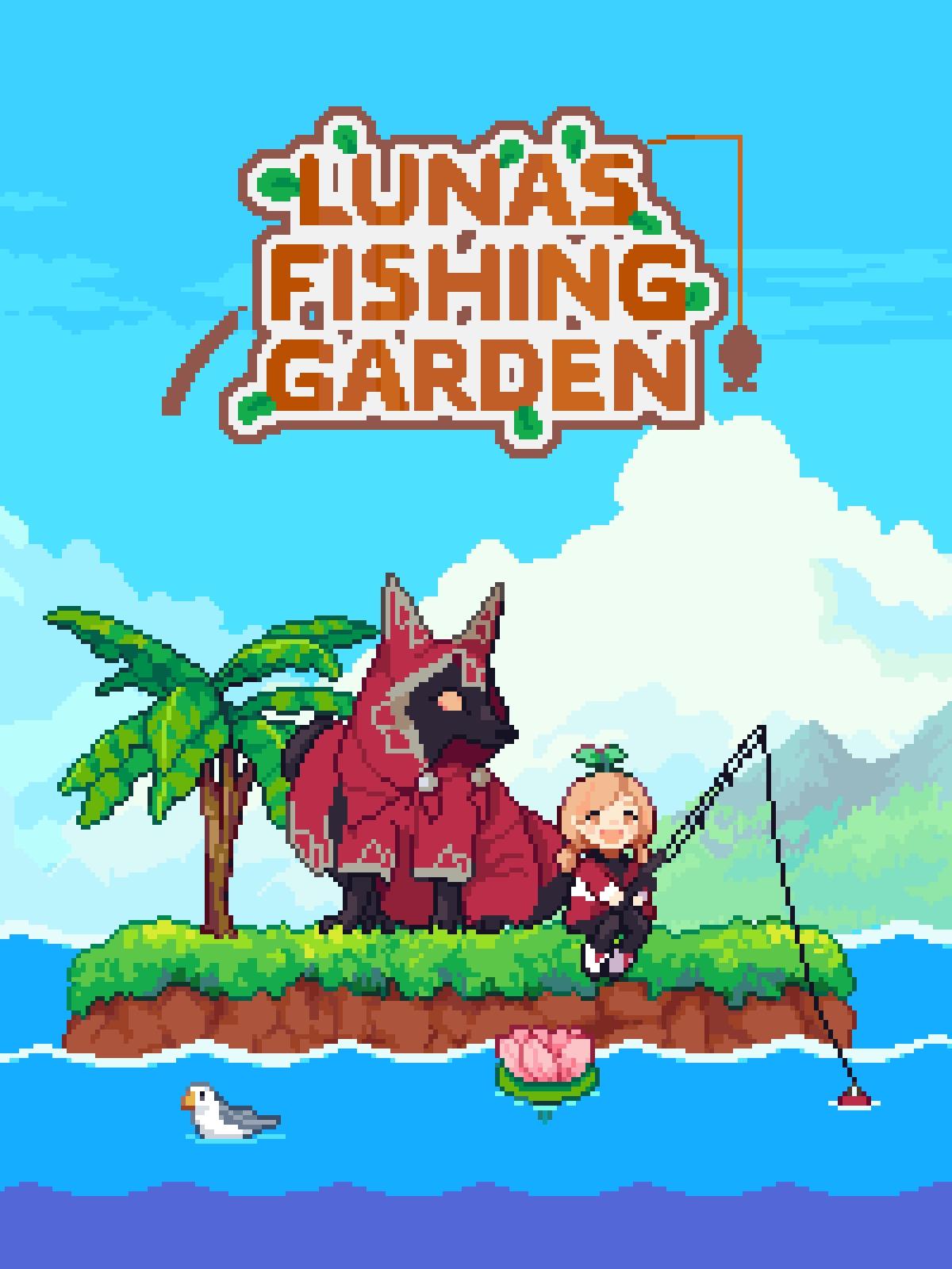 Luna's Fishing Garden