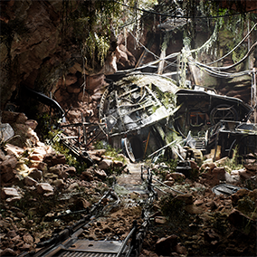 The In-Camera VFX Production Test project is a real-world example that demonstrates the full suite of possibilities for live-action filmmaking with LED walls and Unreal Engine.
