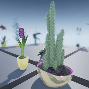 More than 25 StaticMeshes (Flowers and plants) and their BlueprintActors.