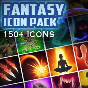 Large package full of a diverse set of fantasy spells and effects perfect for RPGs and MOBAs.