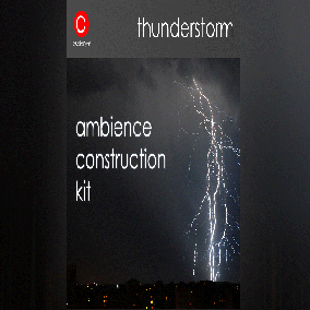 Collection of a loopable thunderstorm background track and a bunch of additionals to create an infinite thunderstorm.