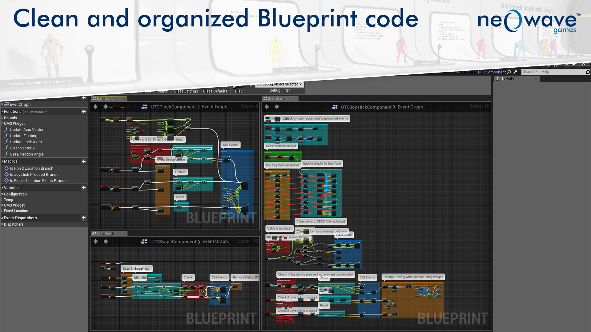 Ultimate touch components by neo wave games in blueprints ue4 share malvernweather Images