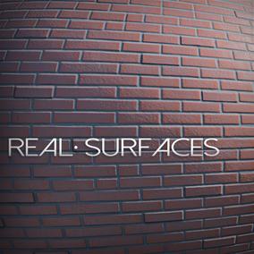 Real Surfaces presents: 20 AAA Photogrammetry Brick and Wall Materials
