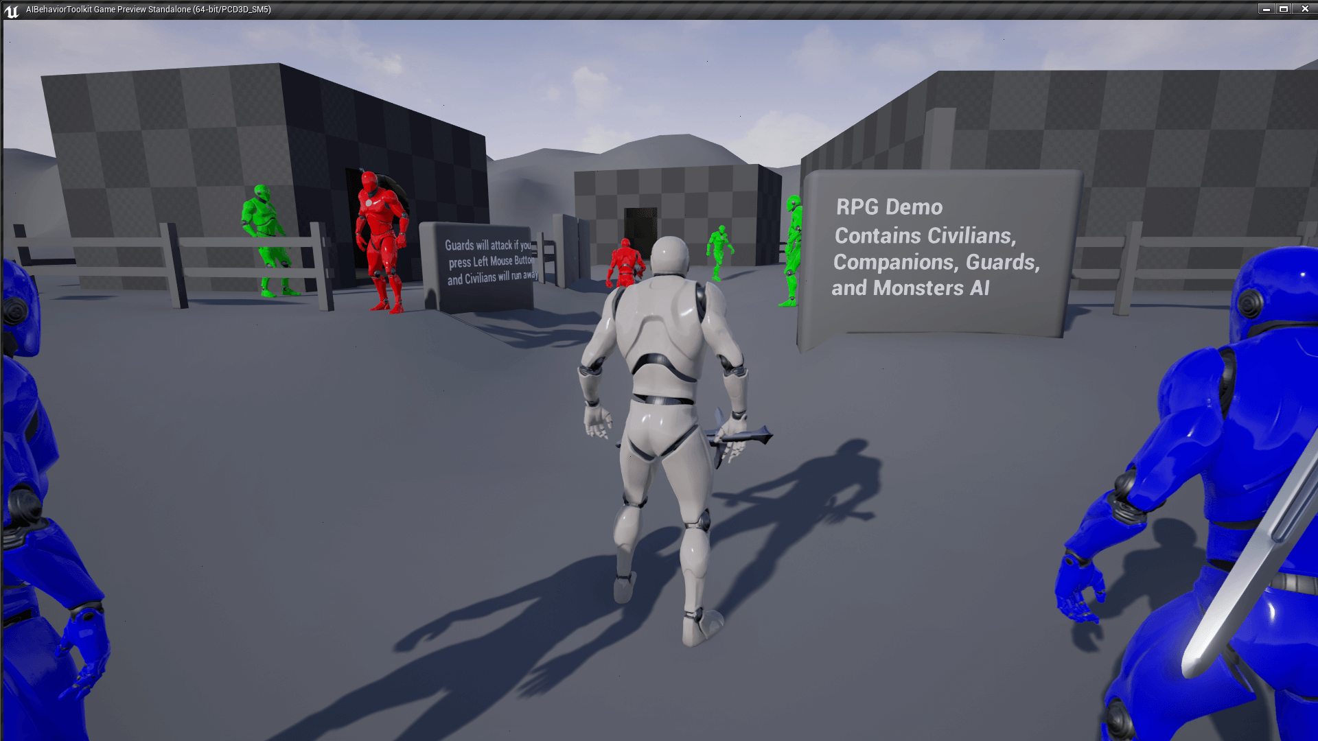 Ai Behavior Toolkit By Drix Studios In Blueprints Ue4 Marketplace