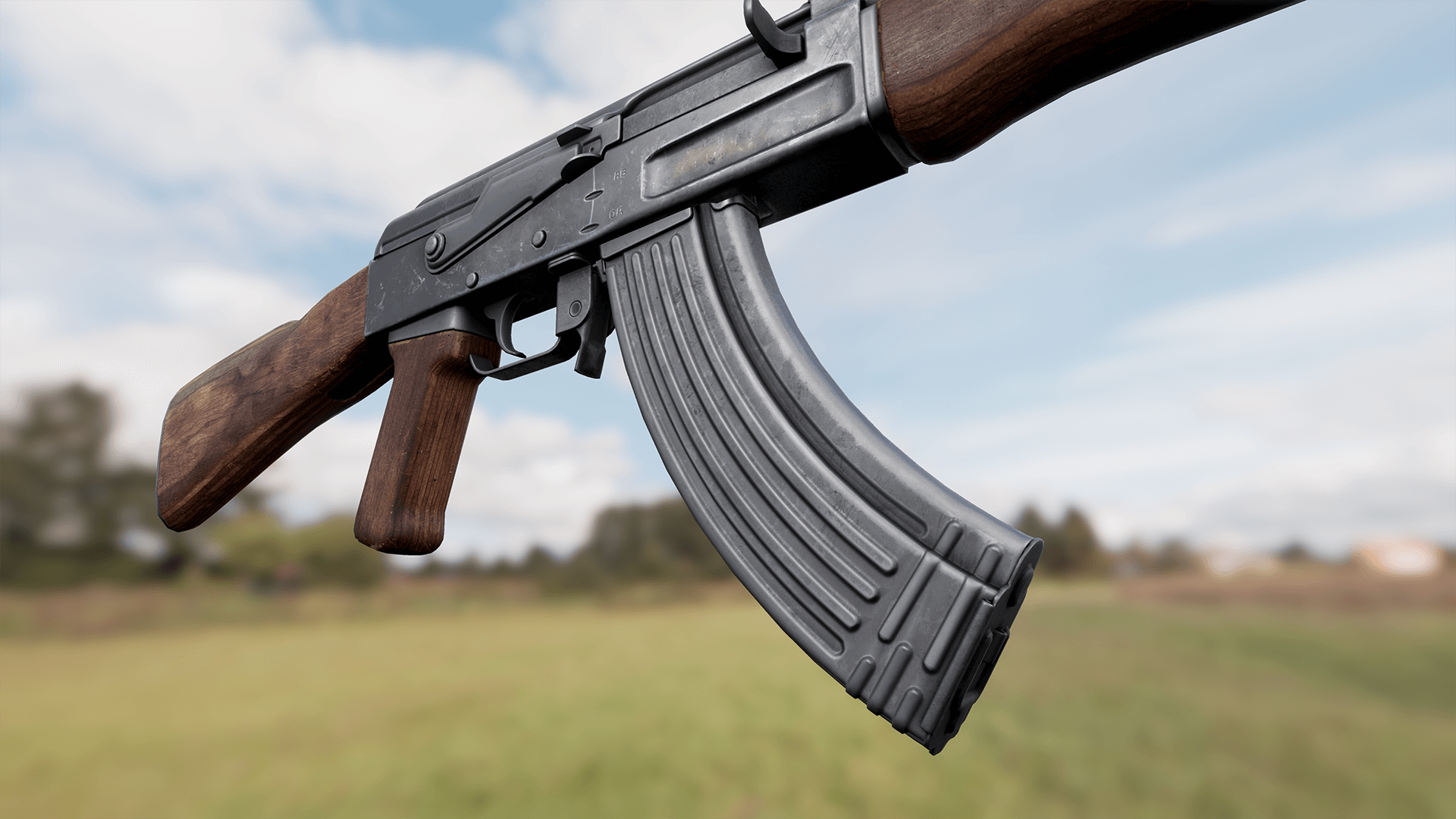 Animated AK47 Assault Rifle FPS Weapons Pack by Ironbelly