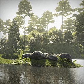 The collection consists of high quality trees models and a complete Unreal Engine scene. Trees included in this collection come from northern hemisphere climate zone. This collection consist of European and North American species.