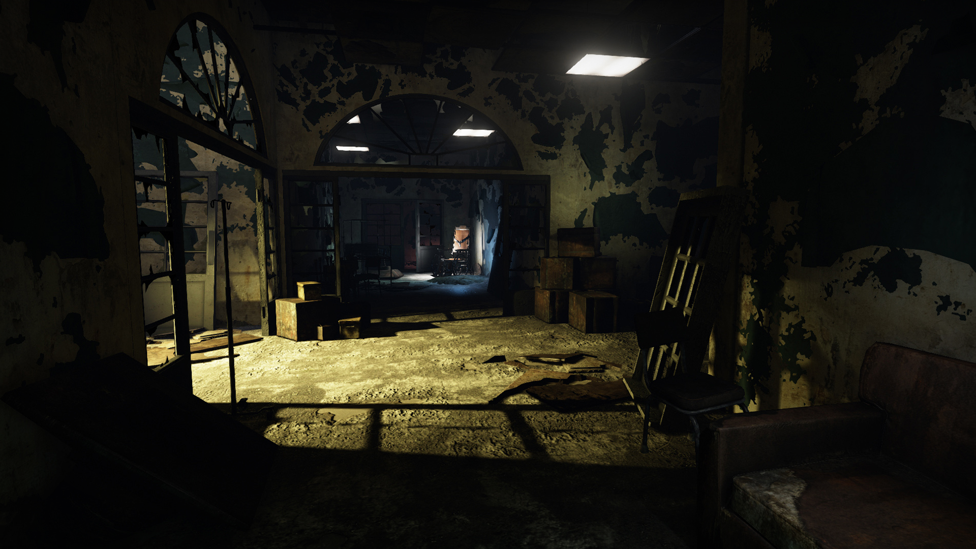 Abandoned Hospital Pack By Hardsuit Labs In Environments