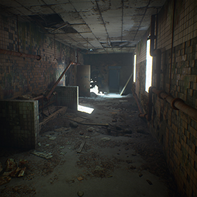 Abandoned place pack is the right tool for creating scarry and shivering atmosphere.