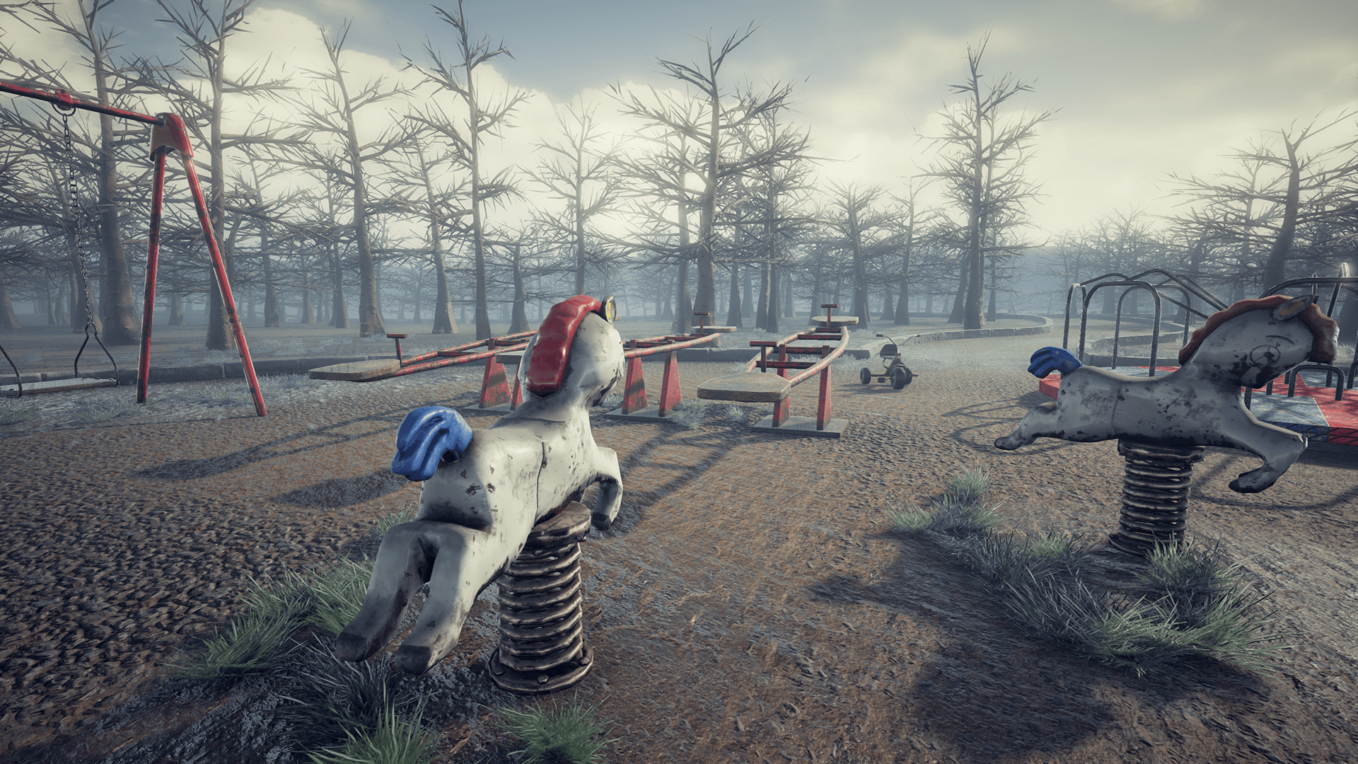 abandoned playground by erhan yilmaz in environments ue4 marketplace