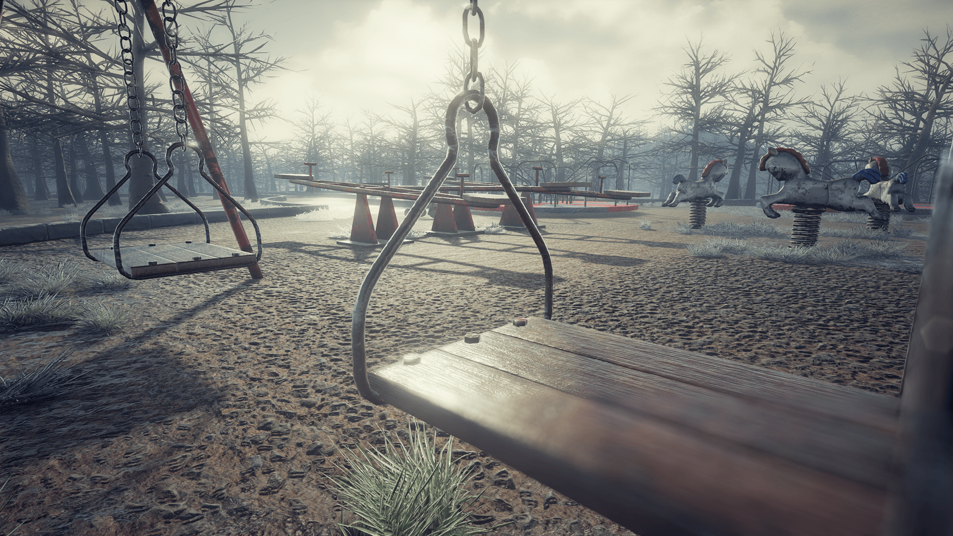 Abandoned Playground In Environments Ue Marketplace