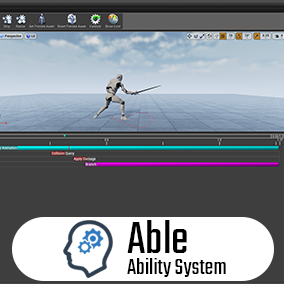 A high performance, multi-threaded, data driven Ability system with network support, written from the ground up for Unreal Engine 4.