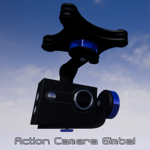 This action camera gimbal is perfect for stabilizing video on drones, vehicles or sports helmets. The Blueprint can easily be used by adding it to any pawn or actor you want.