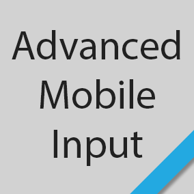Advanced Mobile Input provides mobile input data for pinch zoom, panning, rotation, swiping, finger holding, double tapping, and device shakes.