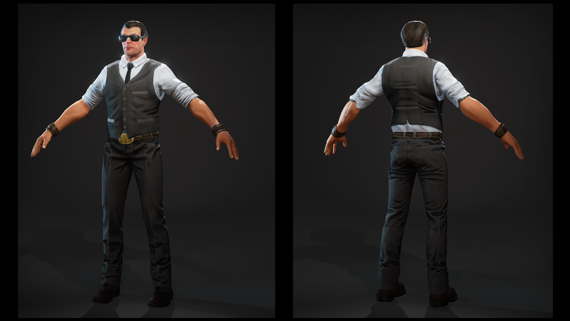 Character Design Unreal Engine 4 : Agents characters pack by batewar in ue
