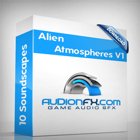 10 Alien Atmospheres background tracks each one minute in length and seamlessly loopable.