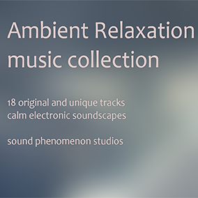 A collection of eighteen calm, beautiful and immersive ambient music tracks that are atmospheric and calming in nature, mixing electronic and acoustic elements.