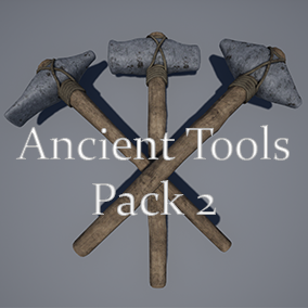 Second Pack of Ancient Stone Tools.
