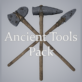 Ancient Stone Tools Pack, perfect to use in any Survival game.