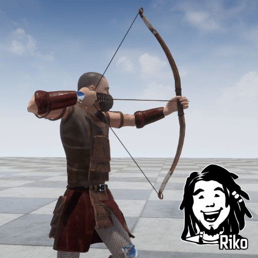 This is a set of 266 motion capture animations for character with bow.