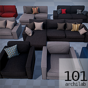 A collection of high quality casual sofas, armchairs and chairs.