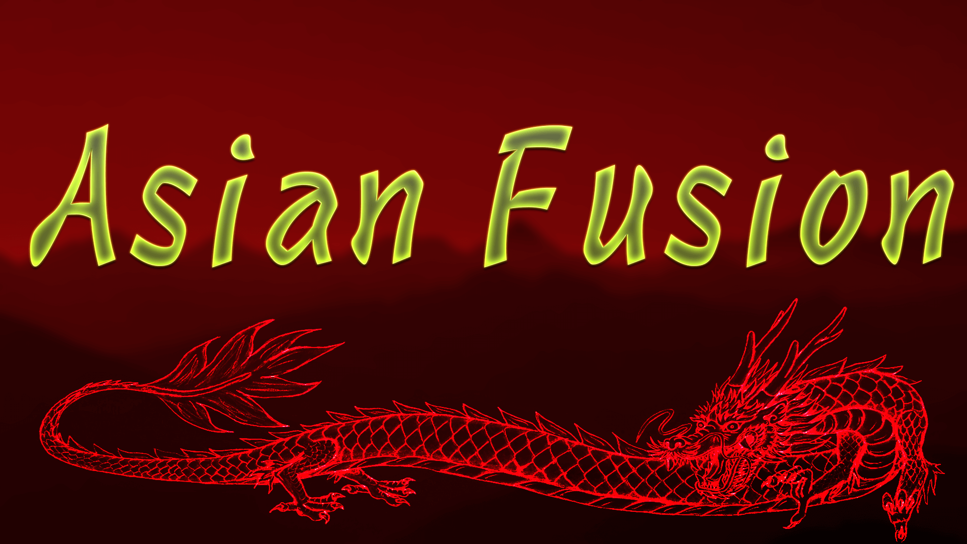 fusion asian What is