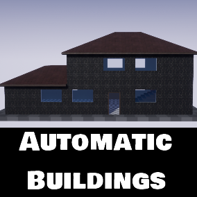 Automatic Buildings is an instancing Blueprint, that creates building out of modular meshes.