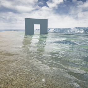 A Coastline Water Shader.