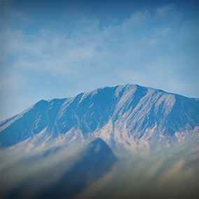 Create your own photorealistic backgrounds or use one of the 20 ready to use panoramic background scapes!