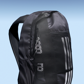 Military and sports backpacks.