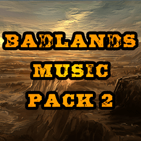 Continue your adventures with Badlands Music Pack 2, music perfect for any post apocalyptic wasteland.