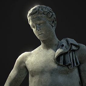 A set of 5 Statues based on photoscans. Every Statue is available as both a rather Highpoly AAA quality and an optimized Mobile version and comes with 4 materials: Copper, Bronze, Marble and Stone.