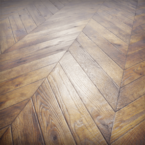 This basic seamless parquet texture set suits perfect for your photorealistic architectural visualizations.