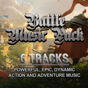 Powerful, epic, action, adventure music!