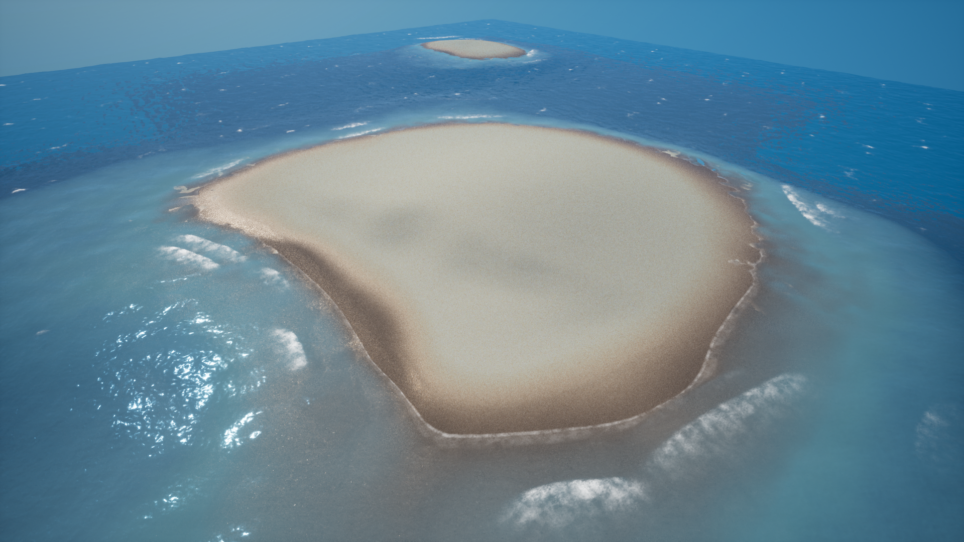 Tropical Ocean Tool by Golden Atlas in Materials - UE4 Marketplace