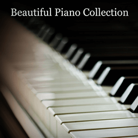A collection of beautiful solo piano and piano with orchestra music cues.