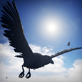 Add interactive Birds (Crows, and Seagulls) to your game environments. Drag and drop easy. Built in obstacle avoidance.