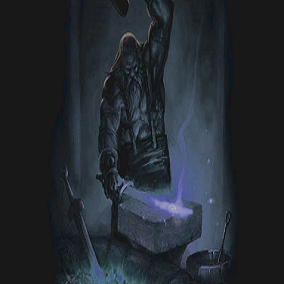 The hammer and anvil, sounds of the blacksmith.  Included in this pack are hammer strikes and the sound of a fire and bellows to recreate the sound of a medieval blacksmith.