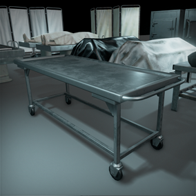 This package perfect useful for any morgue, hospital or horror scene.
