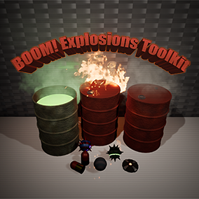 A versatile and highly configurable kit to make explosions of all sorts, from barrels, to grenades, rockets and mines, to magic fireballs and anything else that goes boom!