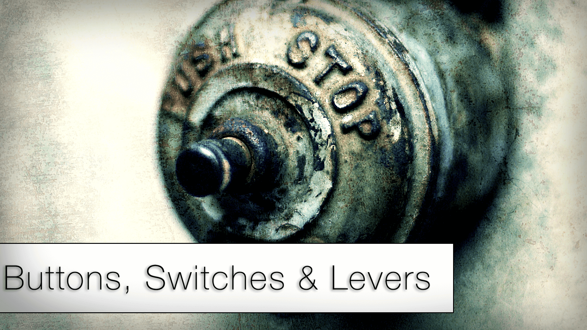 Buttons, Switches & Levers by SoundBits in Sound Effects - UE4