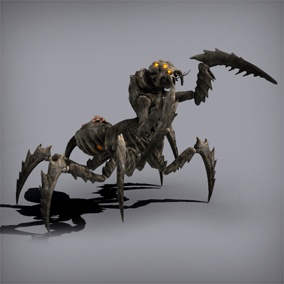 This animated monster will be ideal for a wide variety of projects, from medieval fantasy to Sci Fi.