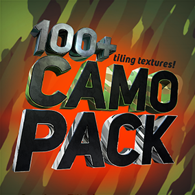 A library of over 100 Camouflage pattern textures for weapons, vehicles or anything you wish!