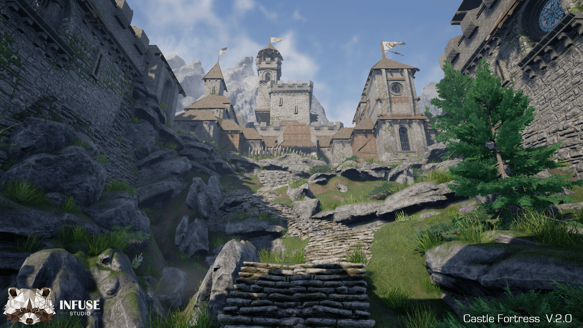 Castle Fortress Infuse Studio Environments