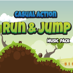 A collection of five fast-paced and rhythmic music for casual games.