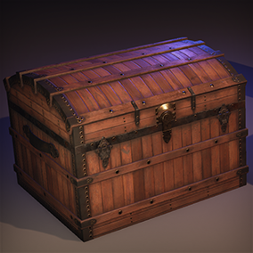 A pack of 10 PBR chests with 3 variations each : open, closed, and animated.
