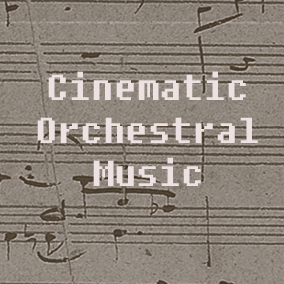 A collection of fourteen epic orchestral tracks with a variety of moods, each creating a different feeling but all sharing a cinematic and grandiose character.